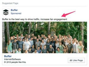 facebook stranica buffer