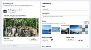 primerna oferta za facebook